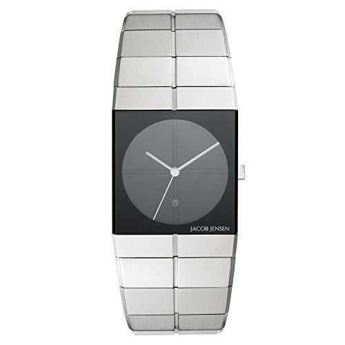 Jacob Jensen 210 Icon Series Sapphire Crystal Men's Watch