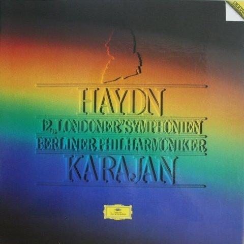"""Price comparison product image Joseph Haydn ,  Berliner Philharmoniker ,  Herbert von Karajan - 12 """"Londoner"""" Symphonien - Deutsche Grammophon - 2741 015"""