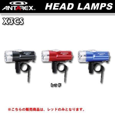 crops(クロップス) X-3CS(3LED)レッド ANT-X3CS-RD