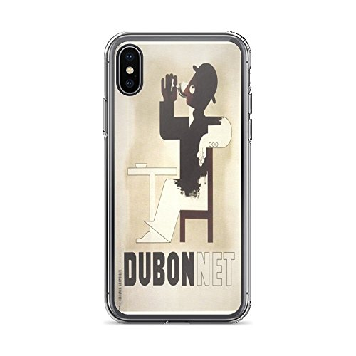Vintage Poster - Dubonnet 0465 - iPhone XR Phone Case