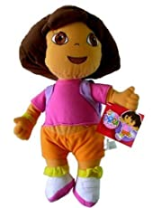 "Dora the Explorer Large 15"" Plush Doll Wearing Mr. Purple Backpack [Toy]"