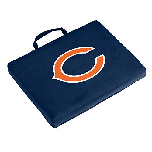 Logo Brands NFL Chicago Bears Bleacher Cushion, One Size, Navy
