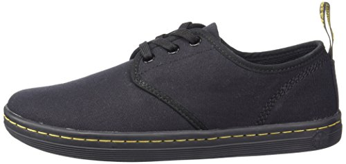 Pictures of Dr. Martens Women's Soho Shoe Cherry Red Canvas 8 UK US Women 5