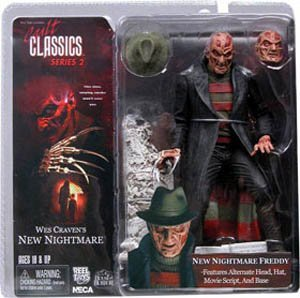 - Freddy Krueger Action Figure from Wes Craven A New Nightmare Cult Classics Series 2