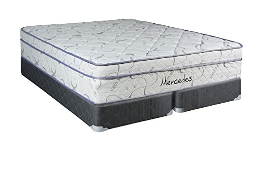 Continental Sleep, 10-Inch Orthopedic Twin Size Mattress with 5'' Split Box Spring, Mercedes Collection by Continental Sleep