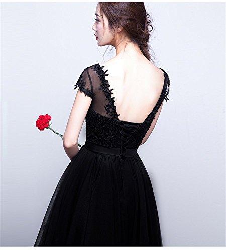 Drasawee - Robe - Trapèze - Femme Noir Noir
