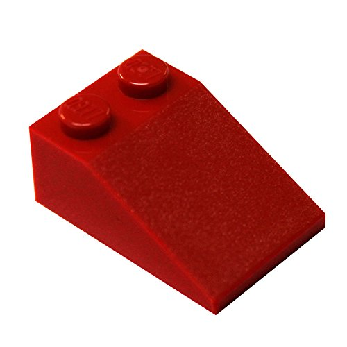 LEGO Parts and Pieces: Red (Bright Red) 2x3 33 Slope ()