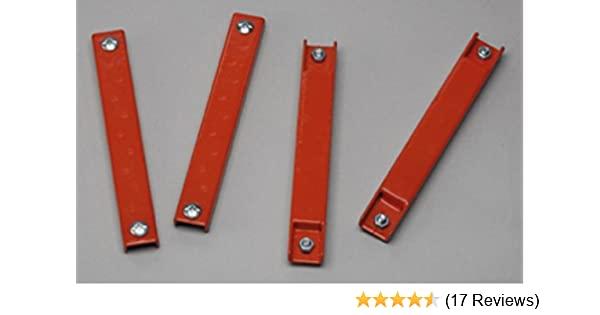 2 Pack Bundle Rubber Coated Magnetic License Plate Holder Magnets