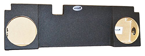 "Chevy Avalanche Cadillac Escalade EXT Dual 10"" Subwoofer Enclosure Box 2002-2013, CARB COMPLIANT MDF! DONT BUY CHEAPER NON COMPLIANT MDF! (Used Ext Escalade Cadillac)"