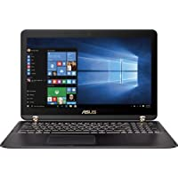 Asus Q534UX 15.6 Anti Glare Touchscreen Laptop, Intel Core i7 7500U Processor 2.7GHz Dual Core, 16GB DDR4, 2TB HDD 512GB SSD, WIFI, Bluetooth, Windows 10 Premium, Black