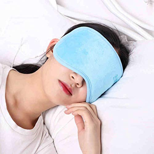 Heated Eye mask Eye Massage Instrument Eye Protector Vision Dark Circles Eye Bags to Soothe Fatigue Relieve Thermal mask (Color : Blue, Size : 2411cm/94inch) by Eye Protection Accessories (Image #1)