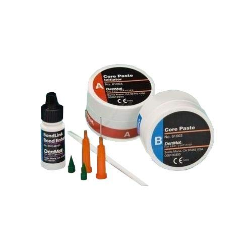 DenMat DEN-030622100 Core White Paste with Fluoride Kit, Shape
