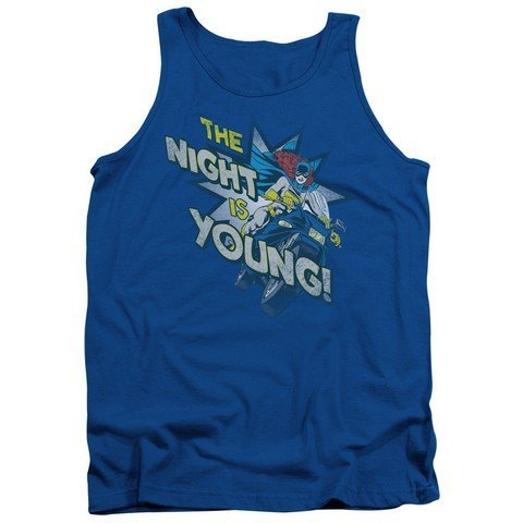 Royal44; 2X Trevco Dc-The Night is Young Adult Tank Top