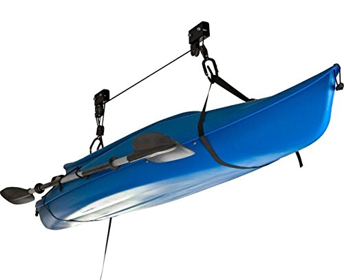 Clearwater Kayak Garage Mount Ceiling Hoist for Home, - Kayak Clearwater