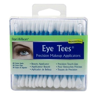 Fran Wilson Eye Tees Cotton Tips 80 Count 2 Pack