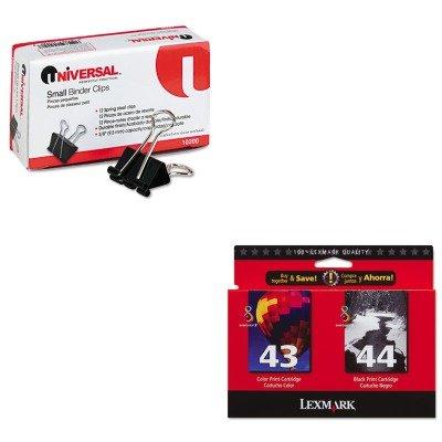 KITLEX18Y0372UNV10200 - Value Kit - Lexmark 18Y0372 Ink (LEX18Y0372) and Universal Small Binder Clips (UNV10200)