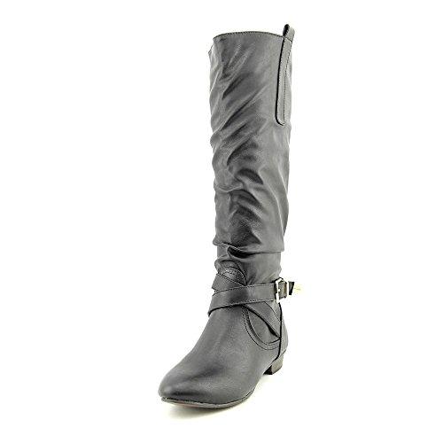 Material Girl Cooper Kvinnor Oss 6,5 Svart Knähöga Boot
