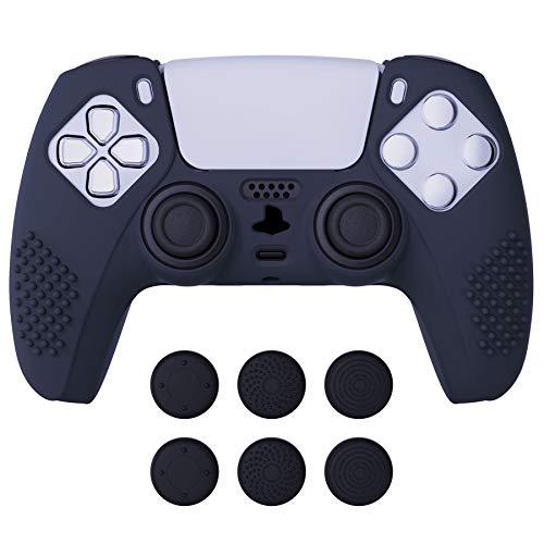 funda + sticks control playstation 5 Extremerate azul oscuro