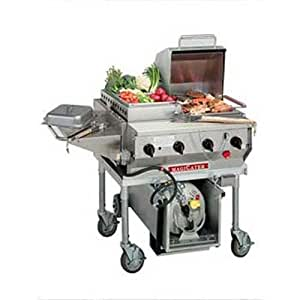"MagiKitch'n LPAGA-30 30"" Magicater Deluxe Portable Outdoor LP Grill"