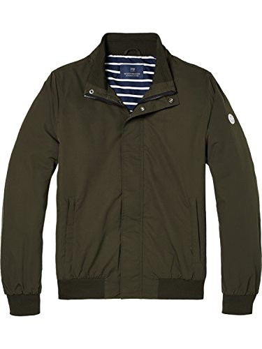 Scotch Military Quality Hombre amp; Verde Classic 0360 Peach Jacket Nylon In Chaqueta Bomber Soda rpnB7r