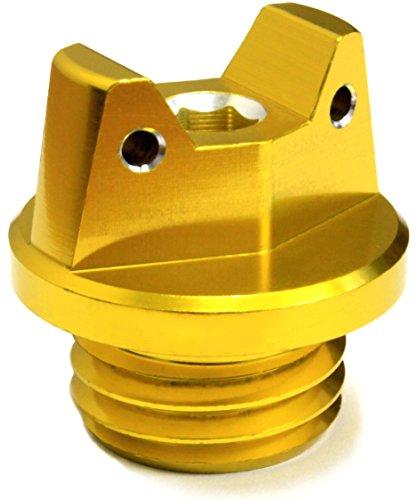 Motosculpt Oil Fill Cap Plug  Gold  For Honda Cbr250 Cbr500 Cbr600 Cbr900 Cbr1000 Vfr1200 Vtr1000