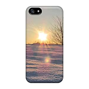 Anti-scratch And Shatterproof Winter Shadows In The Sunset Phone Cases For Iphone 5/5s/ High Quality Cases