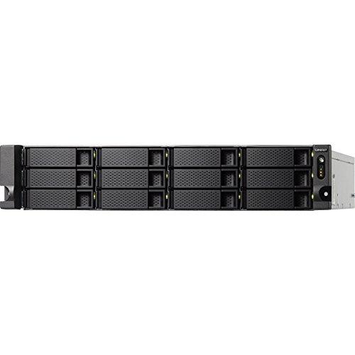 QNAP TS-1263U-RP 2U 12-Bay NAS and iSCSI/ IP-SAN, AMD Quad C