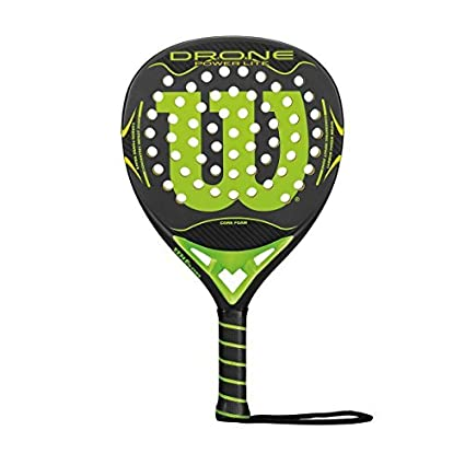 Amazon.com : Wilson Drone Power Lite Paddle - Grey/Lime, One Size by Wilson : Sports & Outdoors
