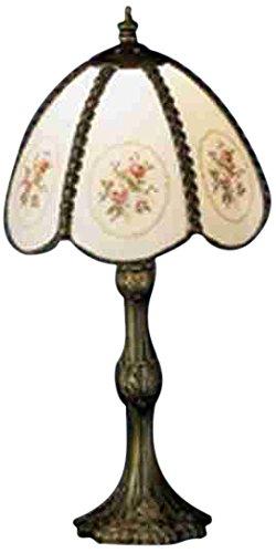 Meyda Tiffany 31308 Rose Bouquet Accent Lamp, 17