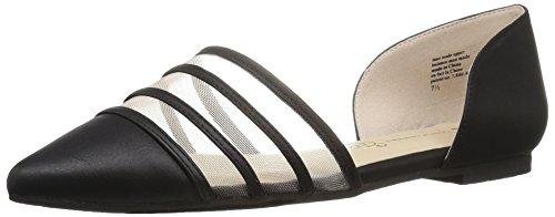 BC Footwear Women's Wait a Minute Pointed Toe Flat Black