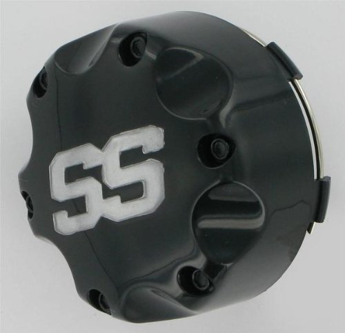 ITP SS112 Sport Wheel Center Cap-4/110 4/115 Black (Itp Ss112 Wheel)