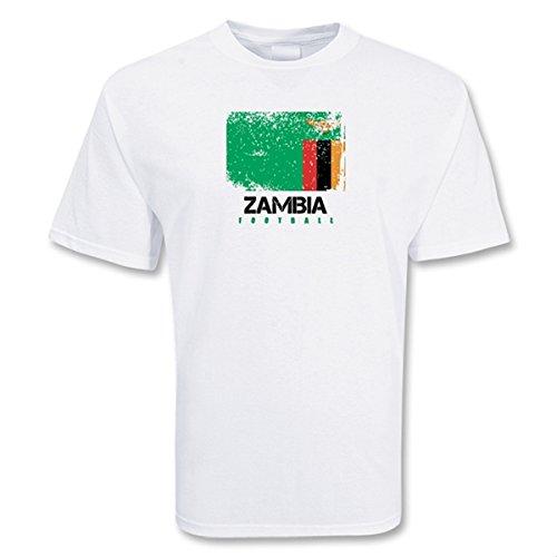 ザンビアuksoccershopフットボールTシャツ