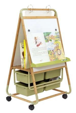 Double Sided Magnetic Casters Board Easel by Copernicus