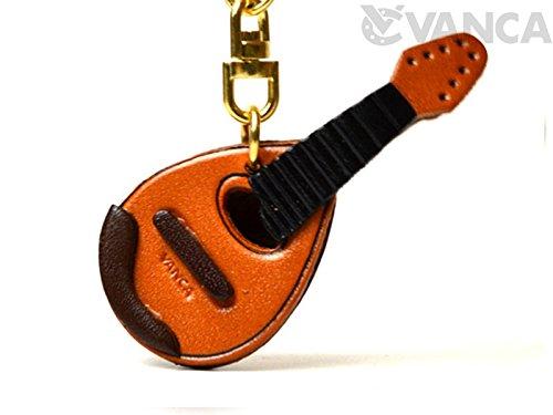 Mandolin Leather Instruments(L) Keychain VANCA CRAFT #56889