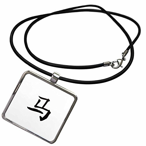 3dRose Kultjers Astrology - Chinese zodiac sign Horse - Necklace With Rectangle Pendant (ncl_282757_1)
