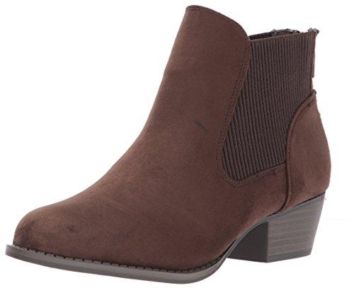 Women's Brown Harper Ankle Bootie UNIONBAY PvwYqSdYx