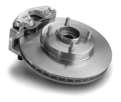 Motorcraft BRR98 Front Disc Brake Rotor