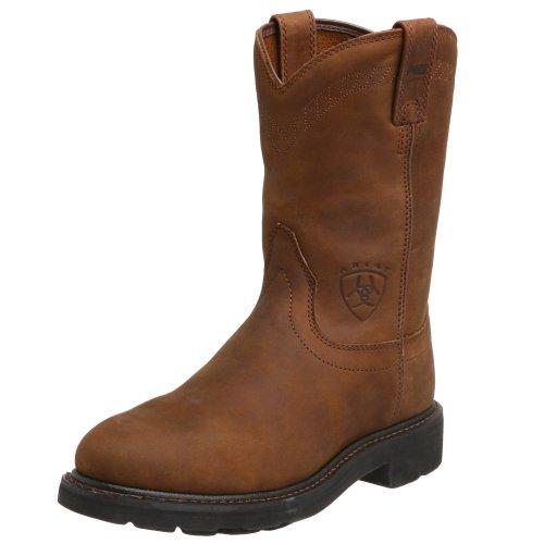 Ariat Men's Sierra Work Boot, Aged Bark, 8 EE US