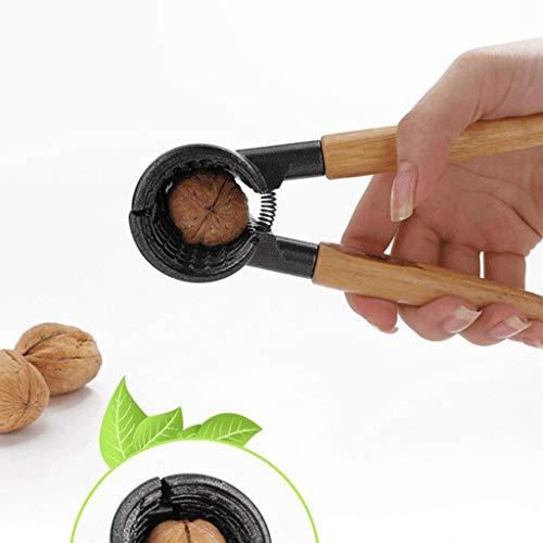 (Finedayqi  Walnut Clip Open Pecan Clip Nut Pliers Whole Grain Peeling Walnut Tool)