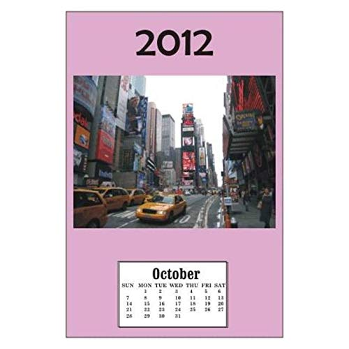 Used, Tiny Details Dollhouse Miniature NYC 2012 Calender for sale  Delivered anywhere in USA