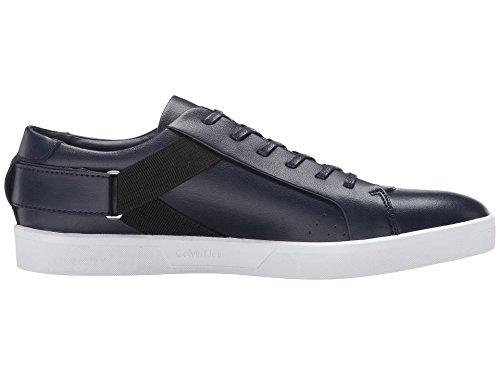 Basket mode Calvin Klein Italo 2 en cuir noir 9lR0dgU