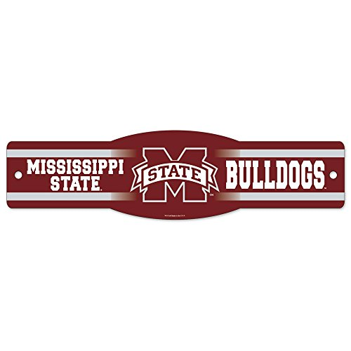 WinCraft NCAA Mississippi State University 22915011 Street/Zone Sign, 4.5
