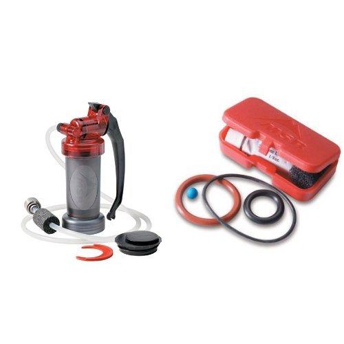 MSR MiniWorks EX Microfilter and MSR MiniWorks//WaterWorks Maintenance Kit Bundle