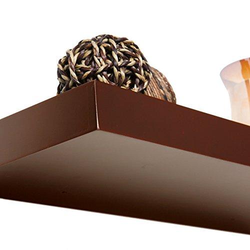 "037732073613 - Chicago Floating Shelf 36"" - Chocolate carousel main 6"