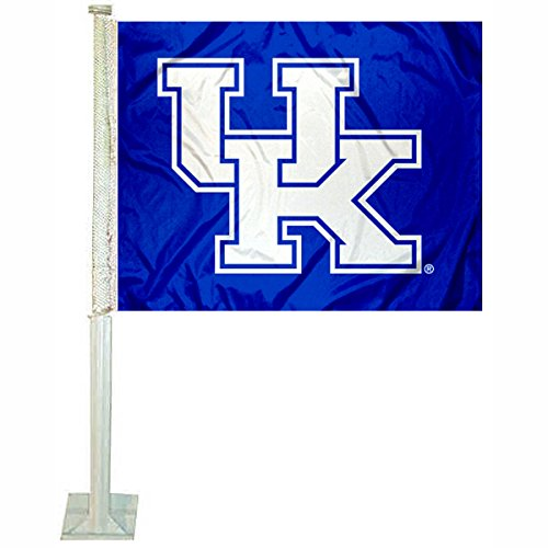 College Flags and Banners Co. Kentucky Wildcats New UK Logo Car Flag