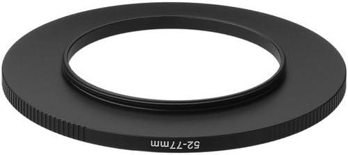 3 Pack Sensei PRO 52mm Lens to 77mm Filter Aluminum Step-Up Ring