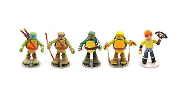 TMNT Minimates Series 5 2-Inch Mini-Figure Fanboy Leonardo