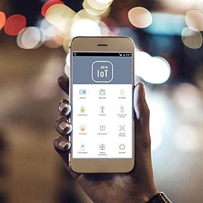 SPC Ángel - Cámara vigilabebé inteligente Wi-Fi (visión nocturna ...