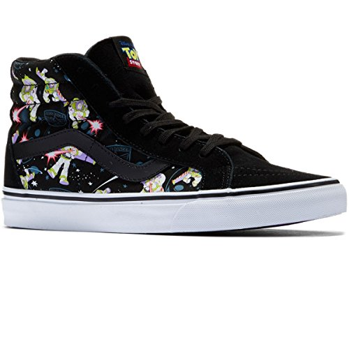 Vans Unisex Adults' Sk8-hi Reissue Leather Trainers Multicolored