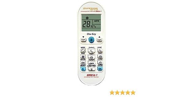 Mando a Distancia Universal para Aire Acondicionado Airco Plus Modelo 3: Amazon.es: Electrónica